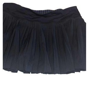 Lululemon Navy Pleated Athletic Skirt/Skort